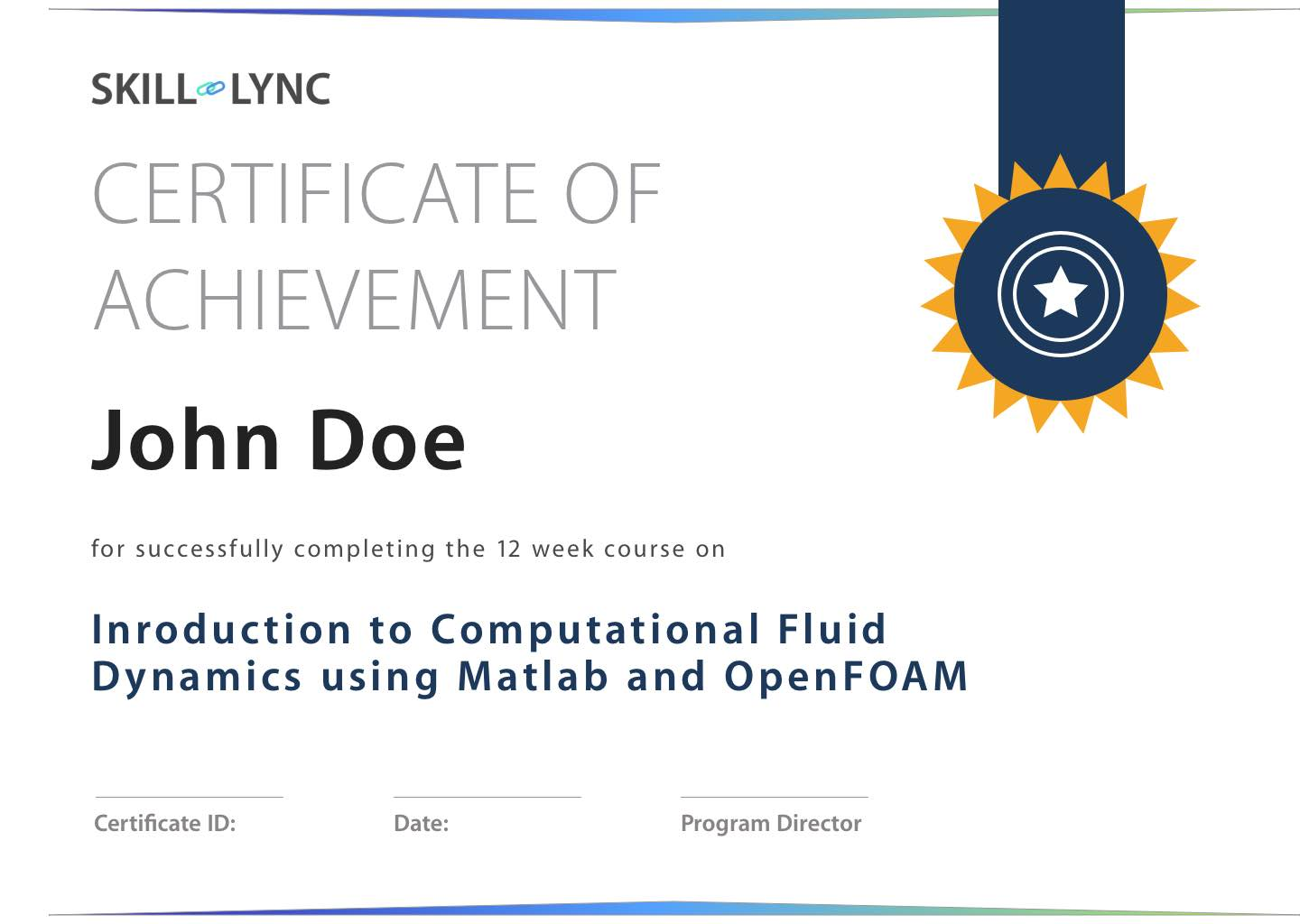 Introduction To Cfd Using Matlab And Openfoam Courses Skill Lync
