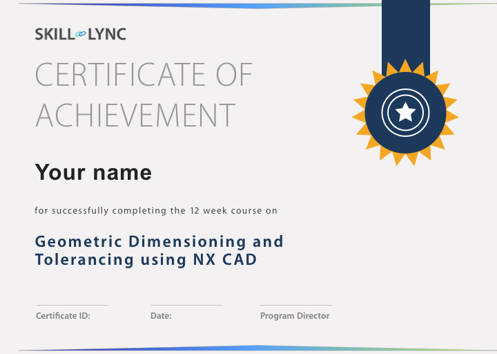 Geometric Dimensioning And Tolerancing Using Nx Cad Courses