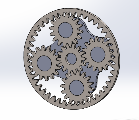 Epicyclic gear train 2