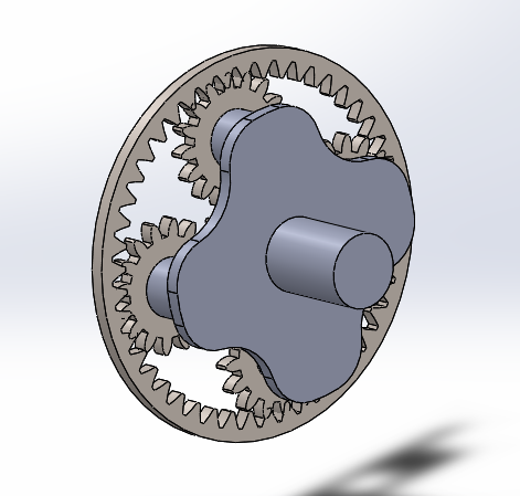 epicyclic gear train