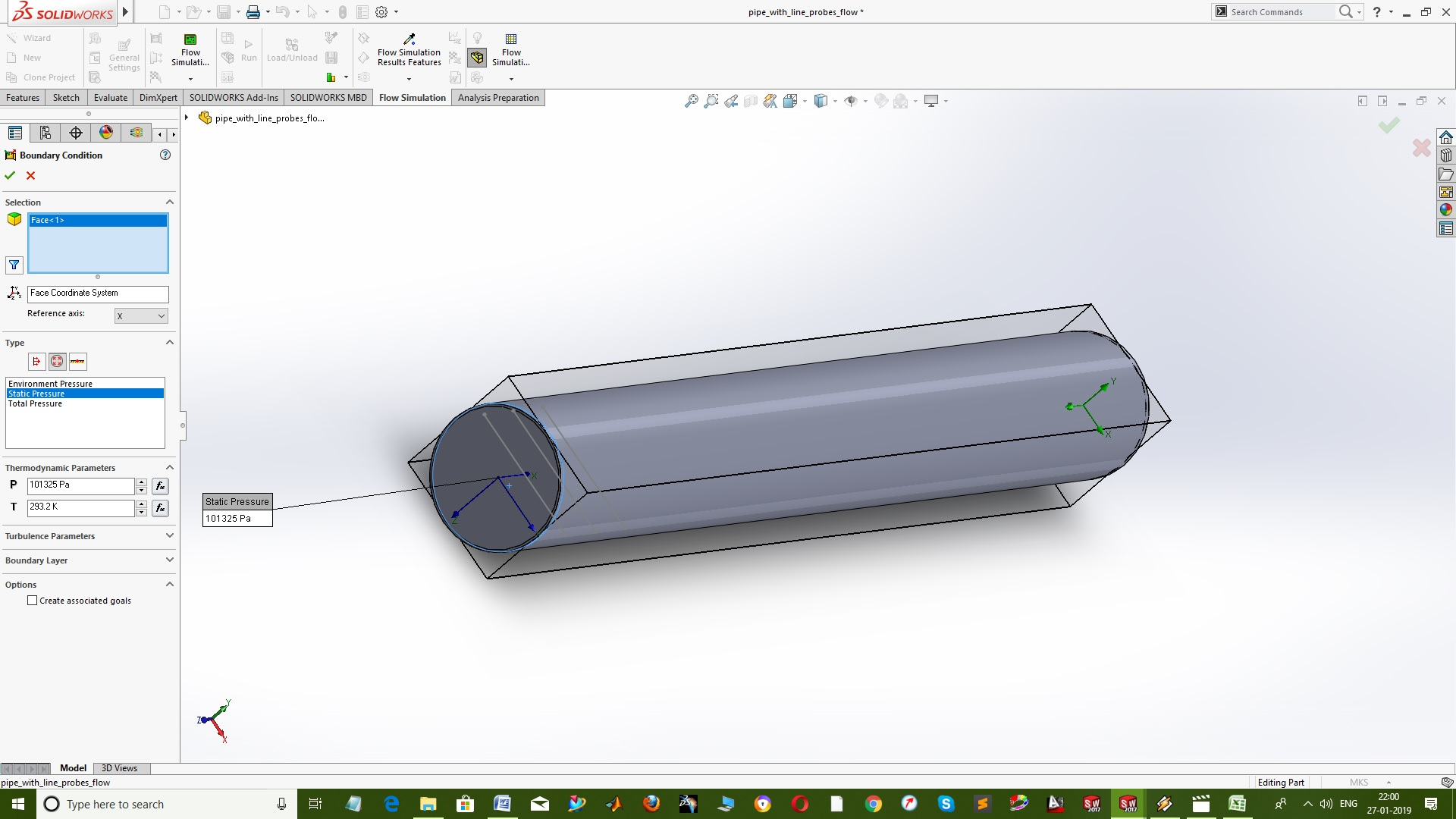 Getting started with Flow SImulation in SolidWorks